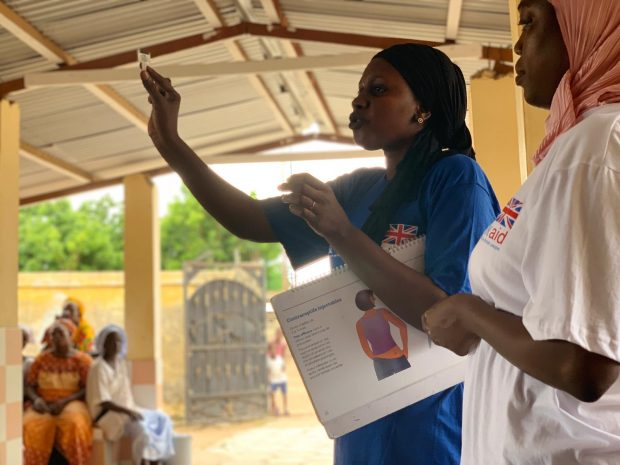UK aid's sexual and reproductive health and rights outreach work in Senegal