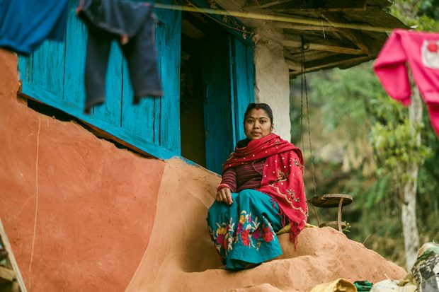 A woman from the Sammanit Jeevan programme in Nepal. Photo: VSO/Suraj Shakya